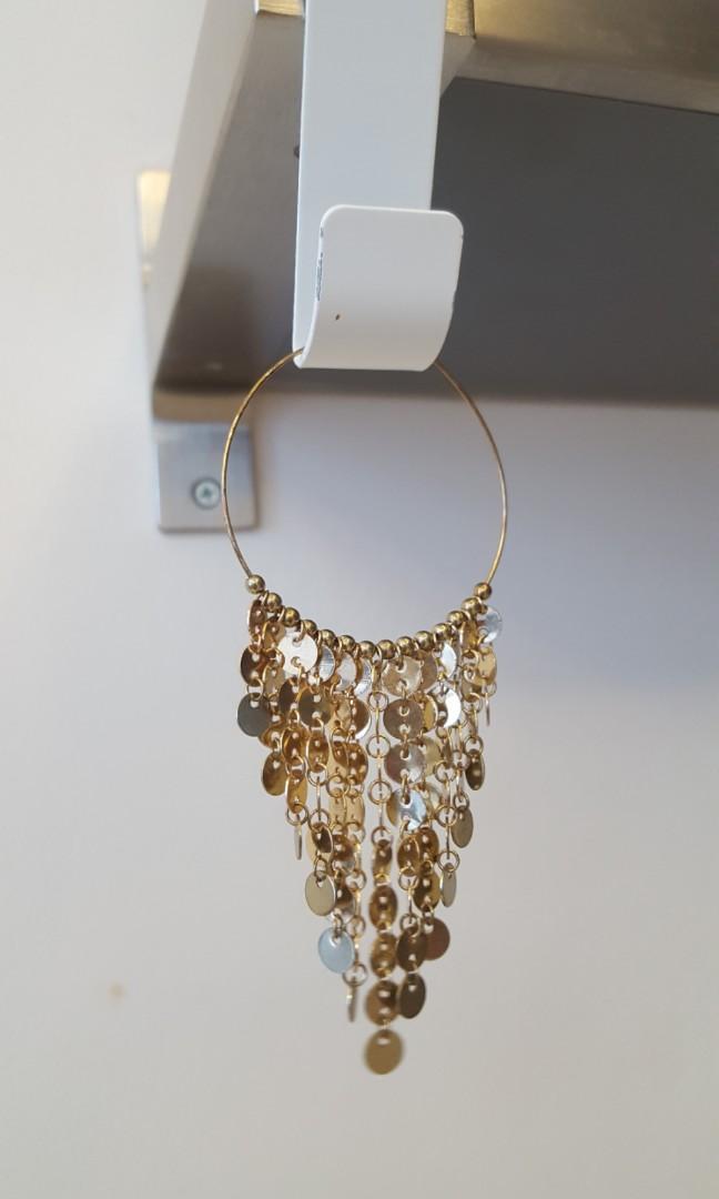 Earrings anting gold Aldo bukan Zara guess