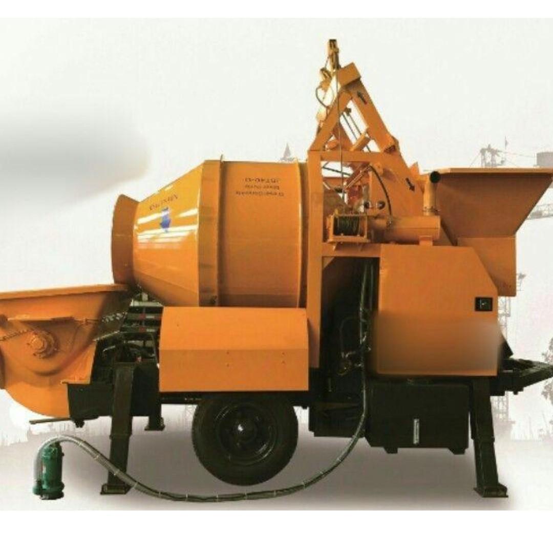 For Sale 170L Hydraulic Oil Tank Capacity Concrete Mixer