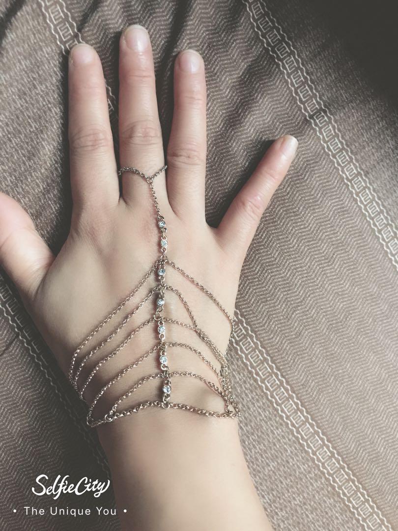 Hand harness