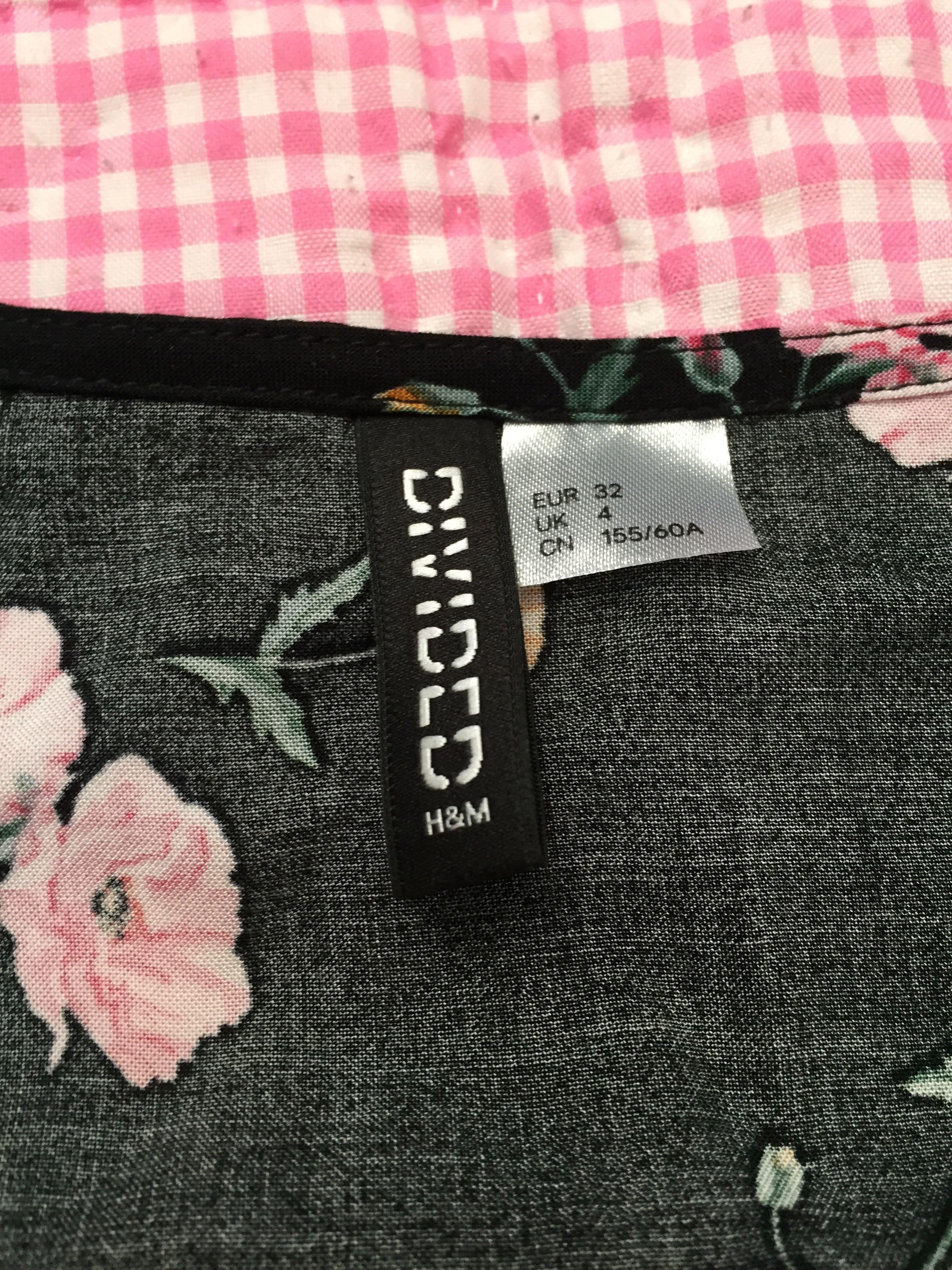 h&m floral jumpsuit