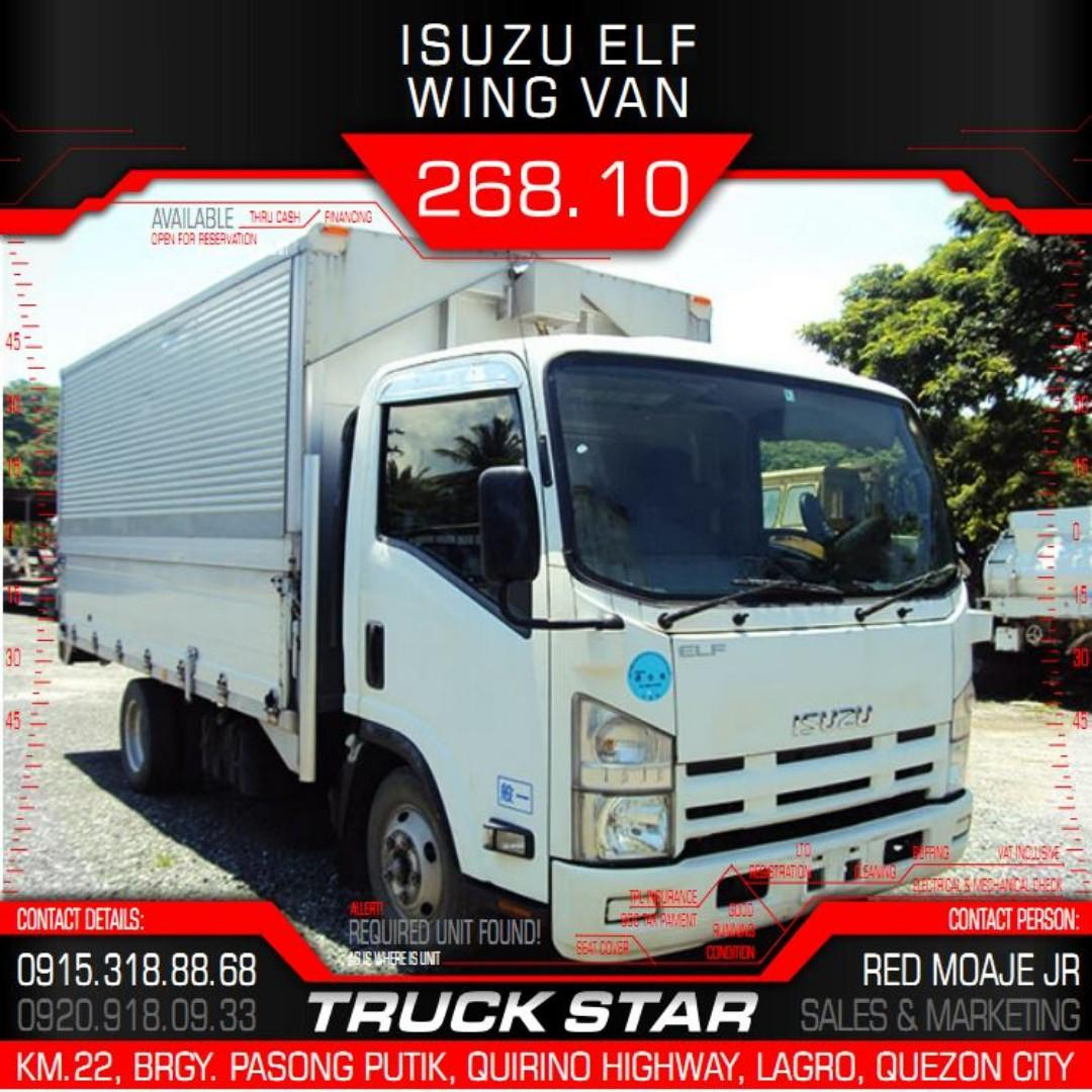 Isuzu Elf Wing Van 4JJ1 Engine 14Footer Truck For Sale on Carousell