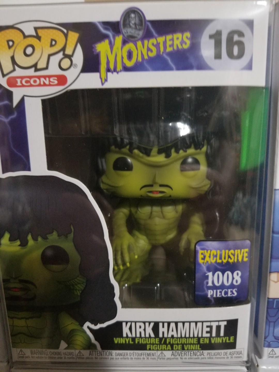 Kirk Hammett ROM exclusive pops! Only 1008 pieces made!