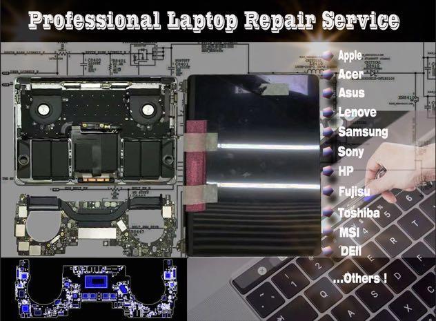 laptop repair notebook fix service