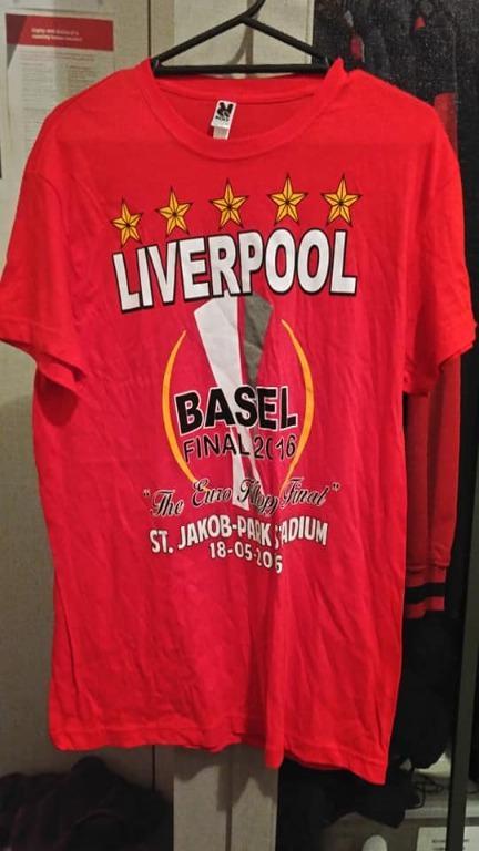 Liverpool 2016 Europa League final fan shirt L size