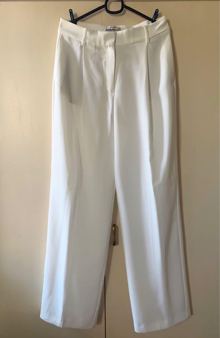good texture special sales popular stores Mango Wide Leg Trousers, Women's Fashion, Women's Clothes, Bottoms ...
