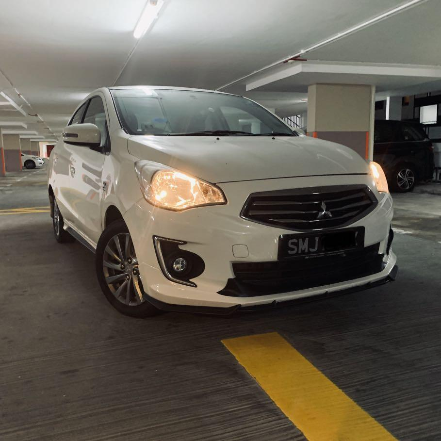 Mitsubishi Attrage Rental