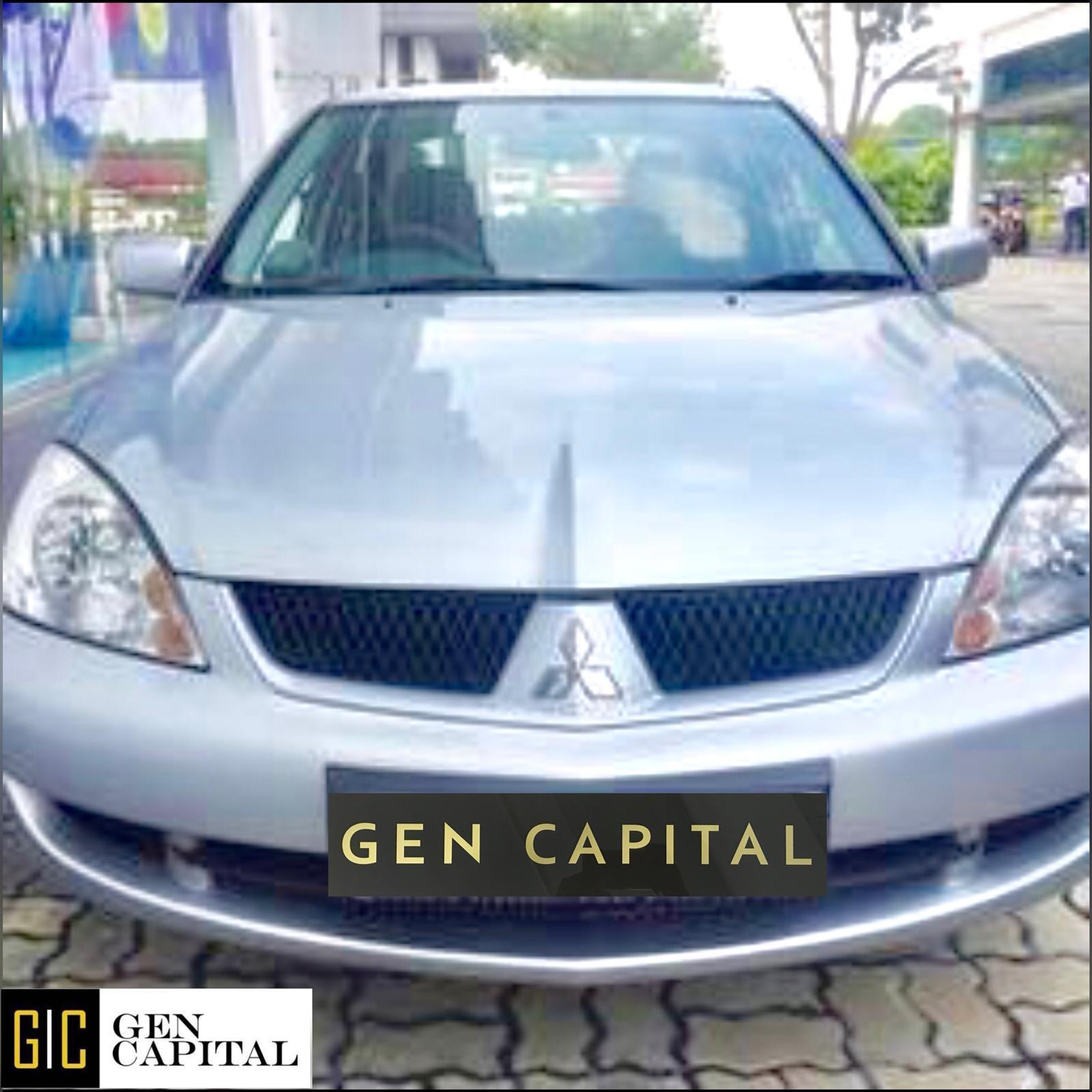 Mitsubishi Lancer GLX * Lowest rental rates, good condition!