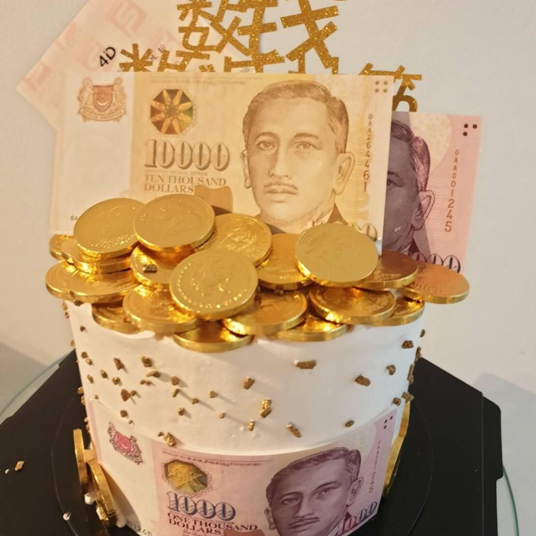 Money and 4D Cake