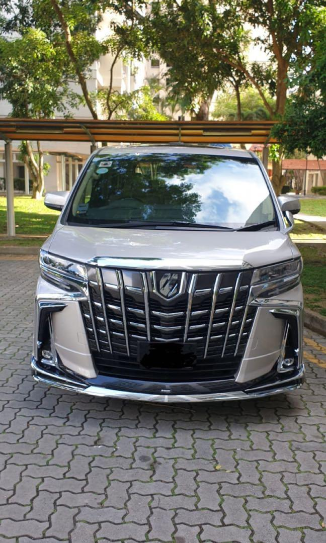 NEW Toyota Alphard. Chauffeured VIP Luxury Transport.