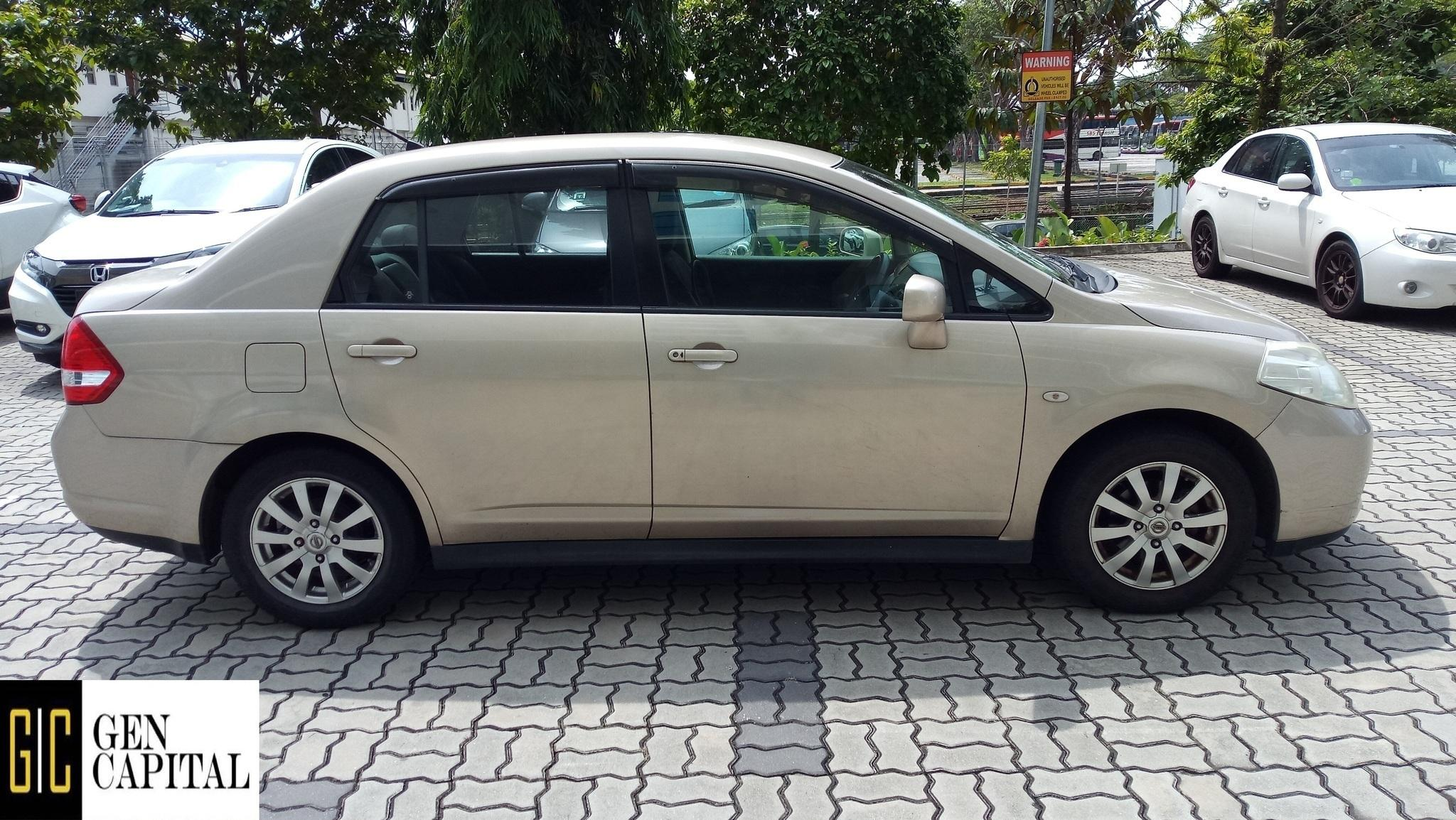 Nissan Latio 1.5A @ Lowest rental rates, good condition!