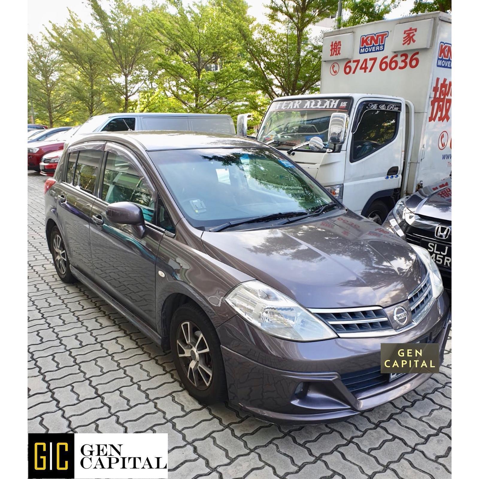 Nissan Latio * Lowest rental rates, good condition!