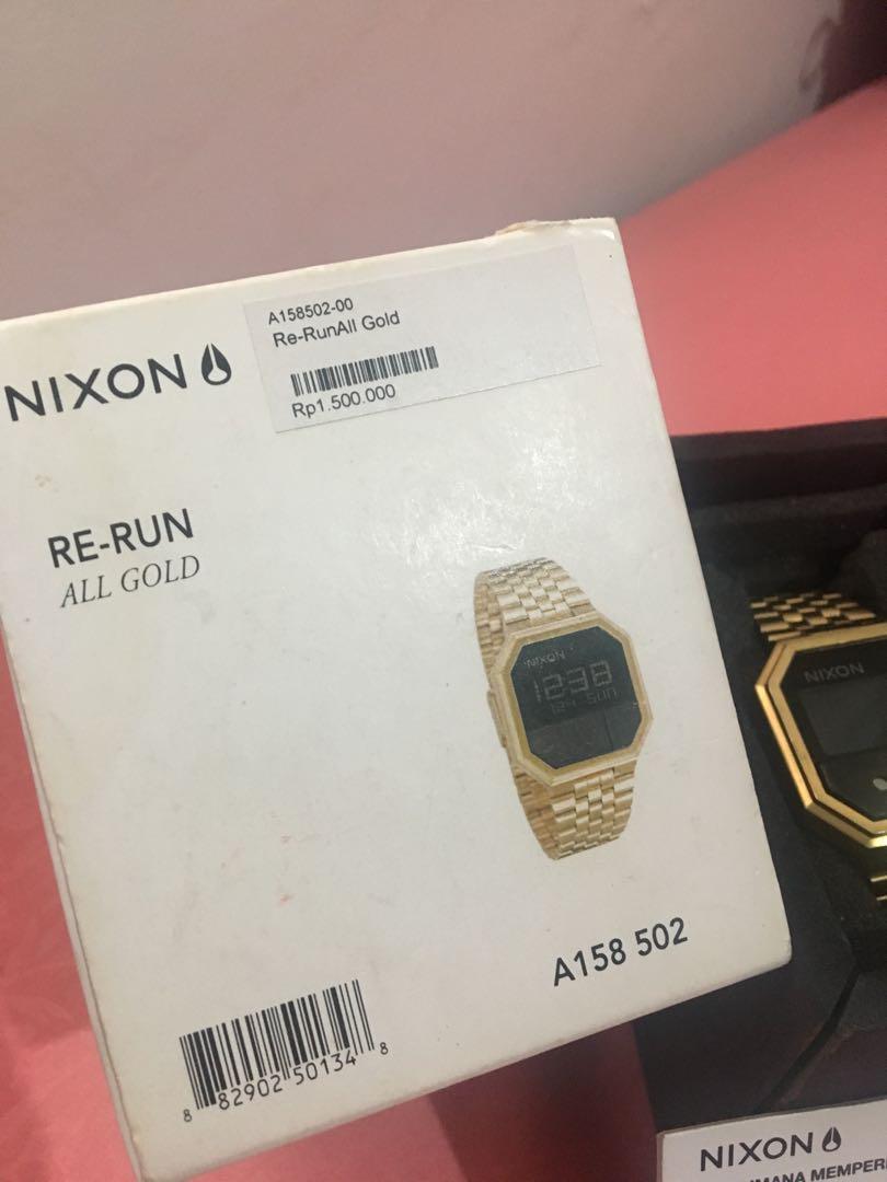 [NIXON] - RE RUN ALL GOLD