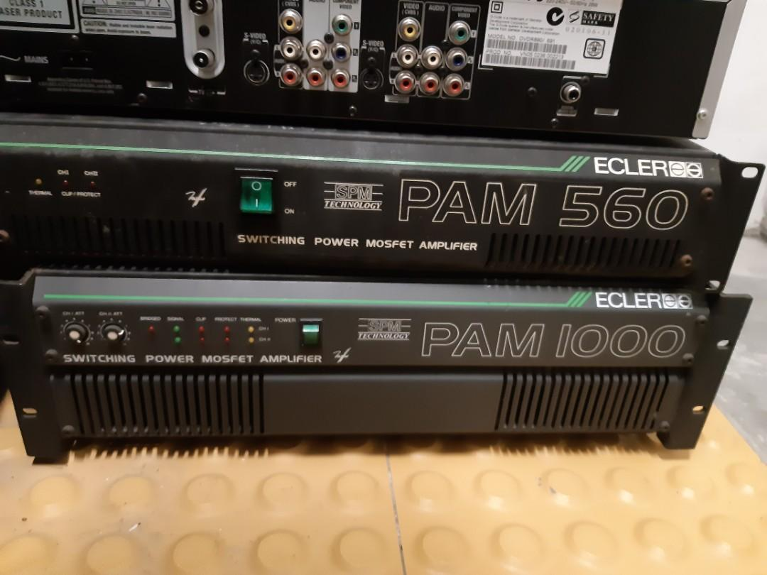 Ecler PAM 1000 Power Amplifier, Electronics, Others on Carousell