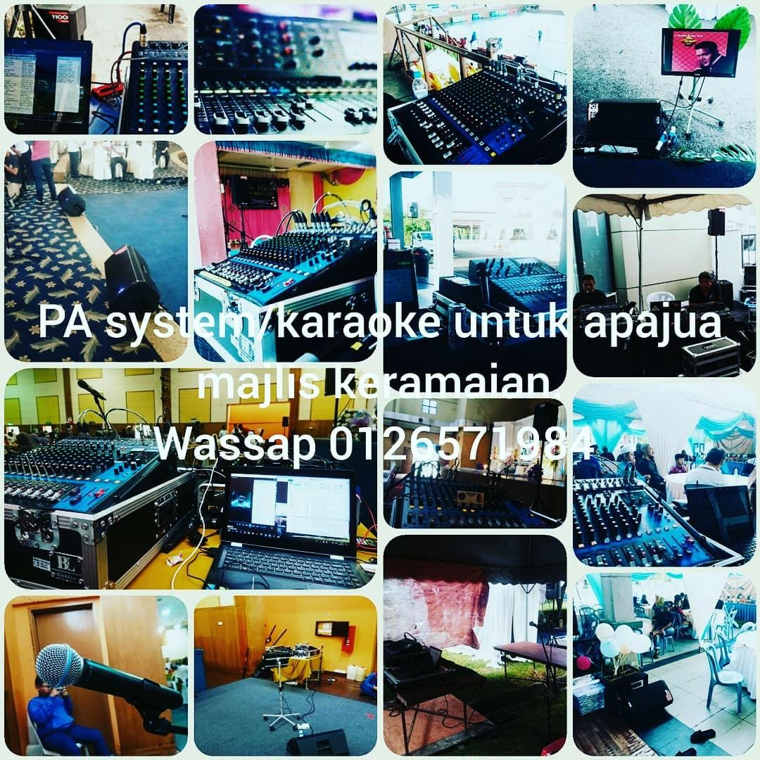 PA,sound and light services.