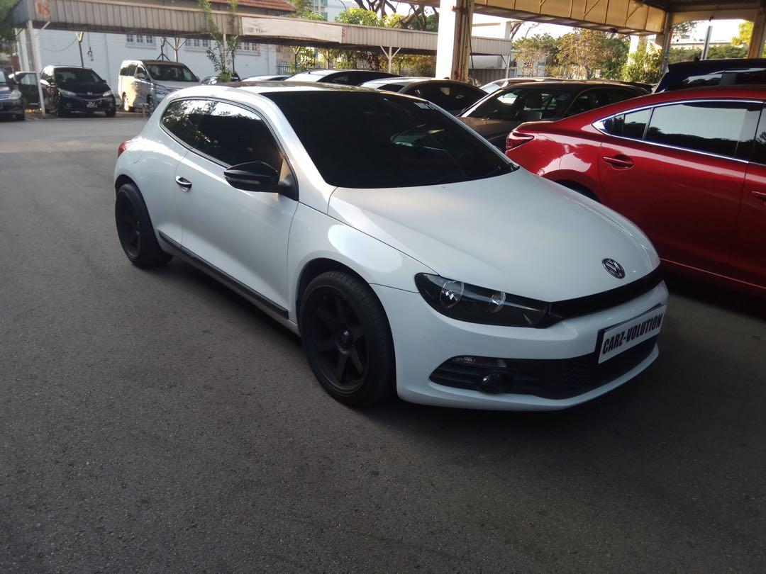 **PHV READY** VOLKSWAGEN SCIROCOO 1.4TSI FOR LEASING