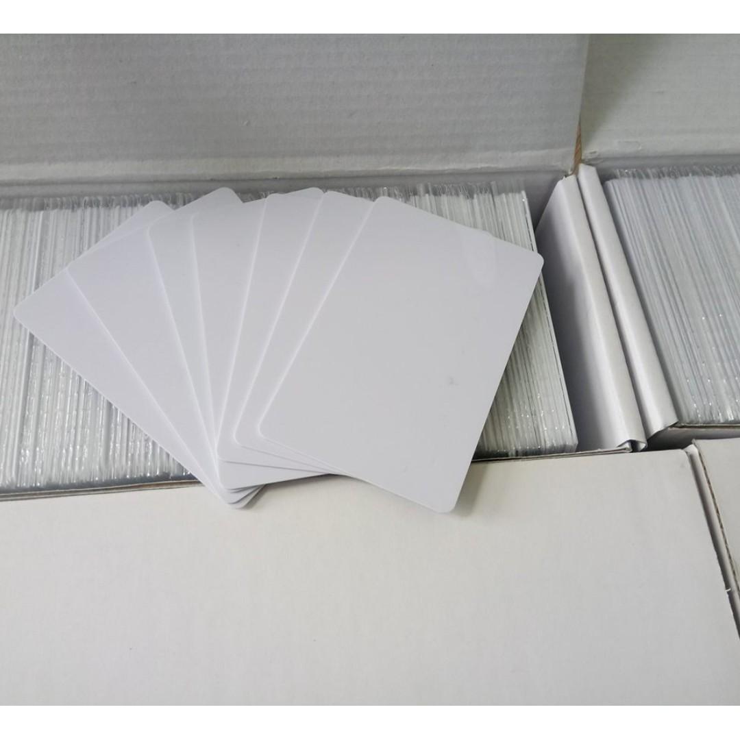 PRINTABLE MIFARE CARD 13.56MHZ PROXIMITY CARD 125KHZ BLANK PREMIUM RFID CARD HICO MAGNETIC STRIPE CARD LOYALTY CARD MEMBERSHIP CARD VIP CARD