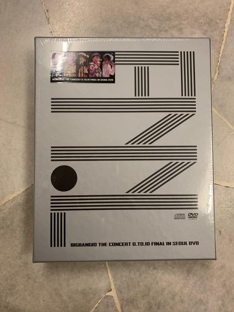 Ready Stock BIGBANG10 THE CONCERT 0.TO.10 FINAL IN SEOUL DVD - Bigbang
