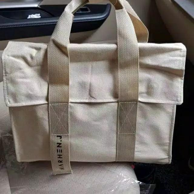 SALE NEW MARHEN J ROY full neutral canvas bag branded korea import #joinjuli