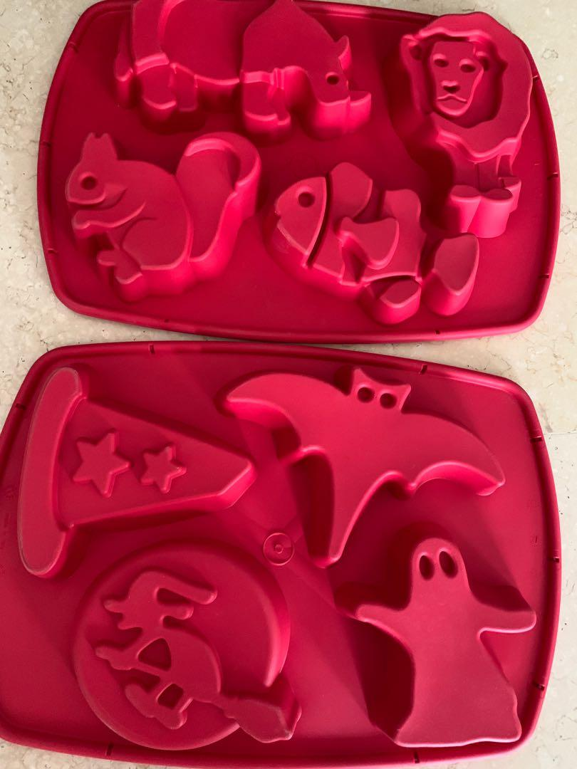 Set of Silicone Mould TEFAL Halloween and animals