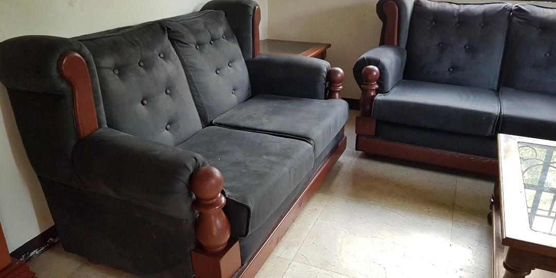 Superb Sofa And King Size Bed Home Furniture Furniture Caraccident5 Cool Chair Designs And Ideas Caraccident5Info