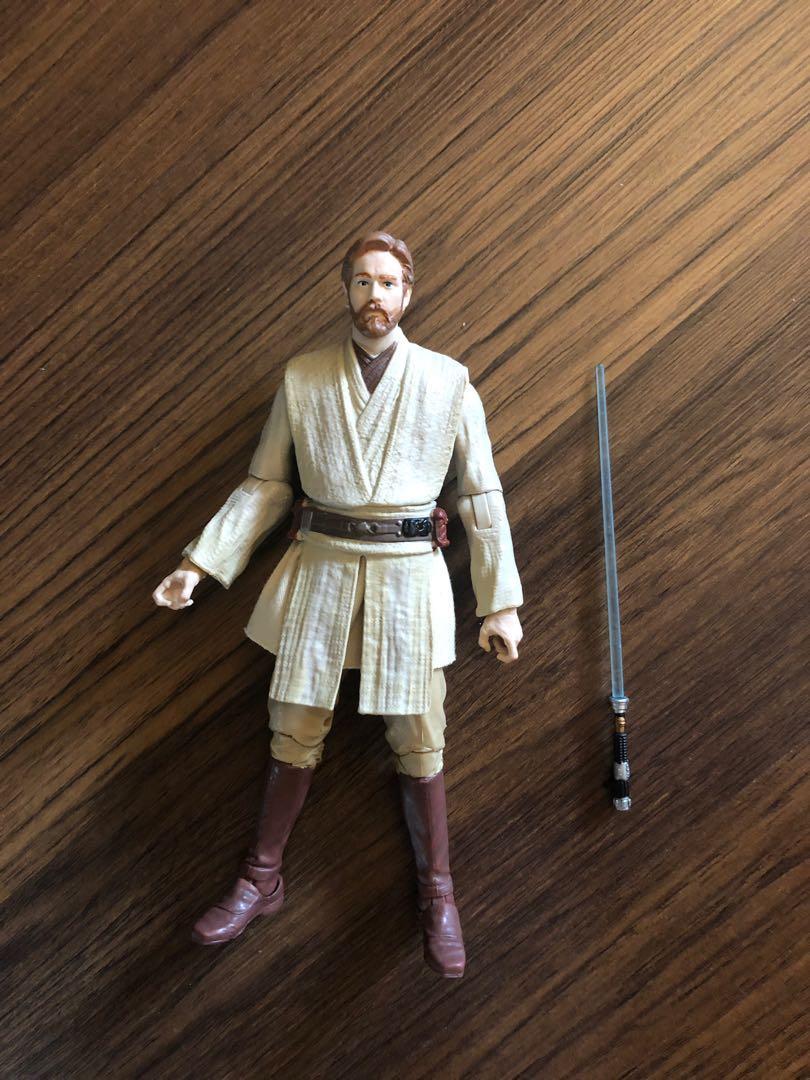 Star Wars Black Series Obi Wan Kenobi Revenge Of The Sith Toys Games Bricks Figurines On Carousell