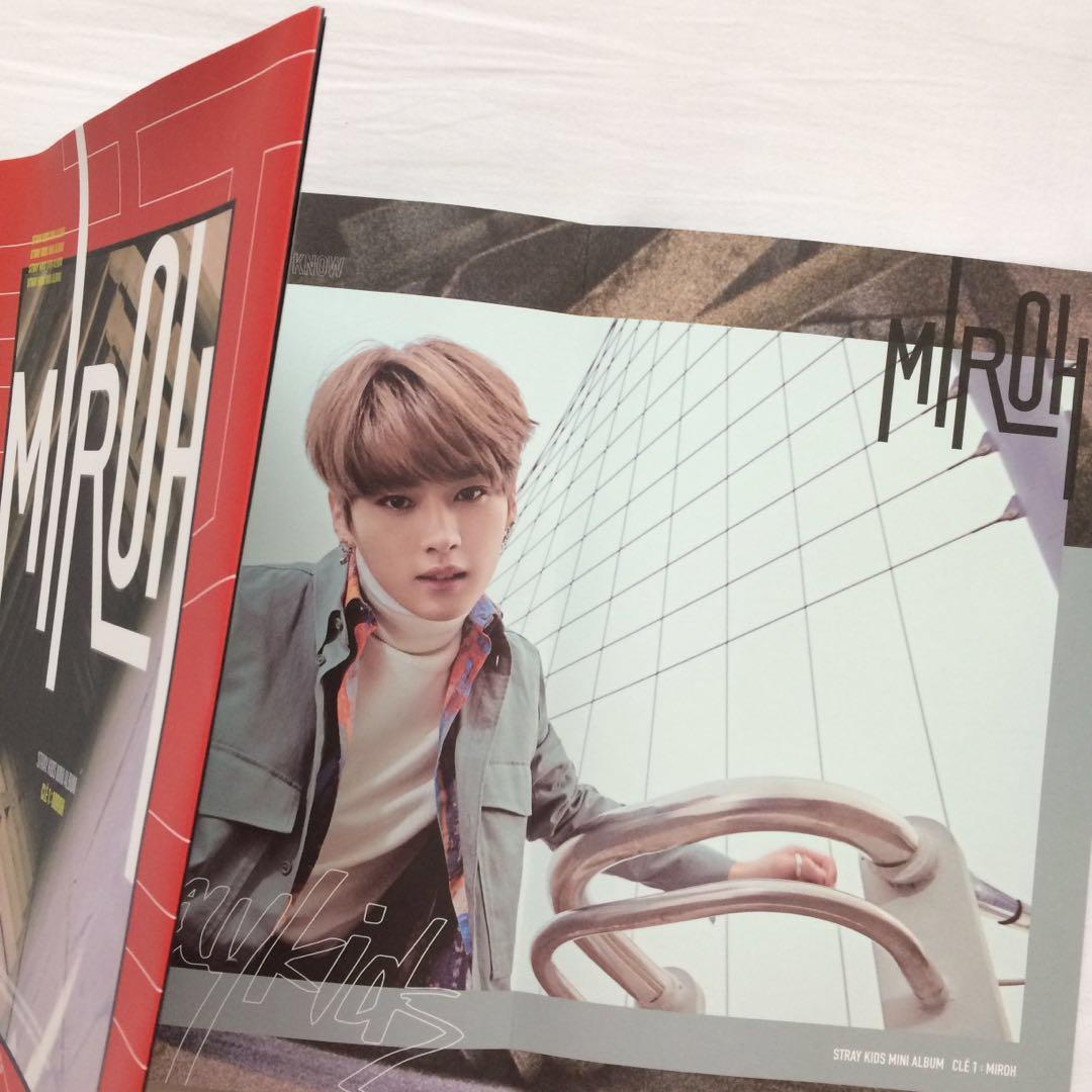 Stray Kids Clé 1 : MIROH (LIMITED Ver.) Album, Lee Know Page