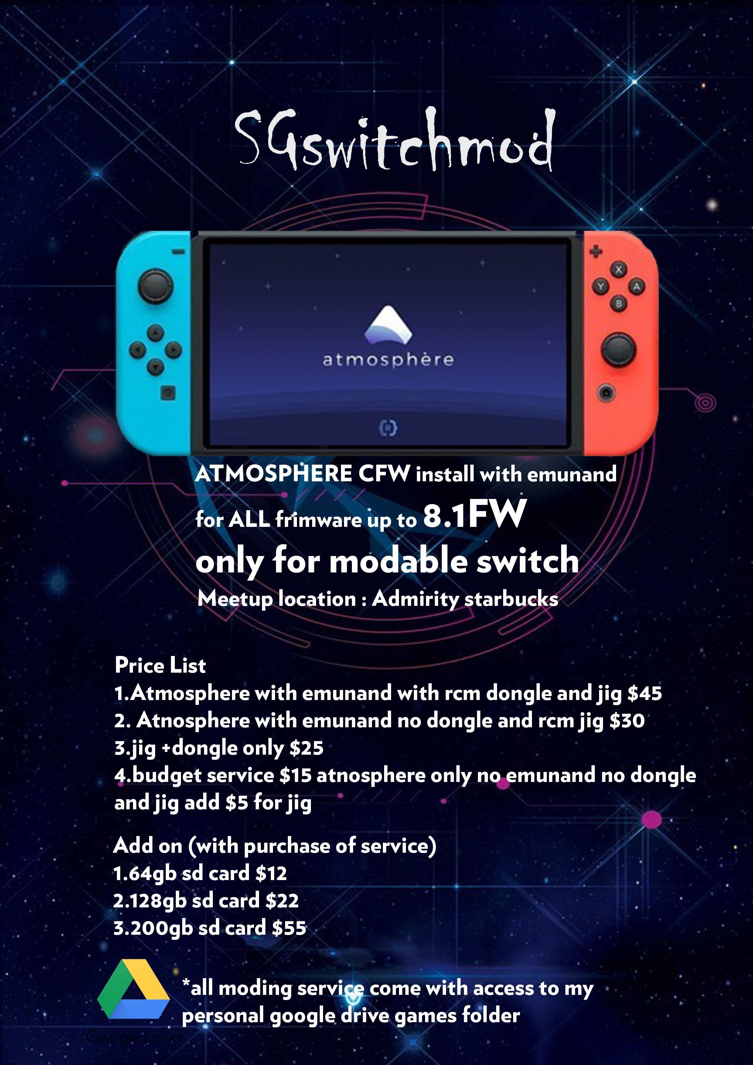 Nintendo Switch mod/modding , Toys & Games, Video Gaming