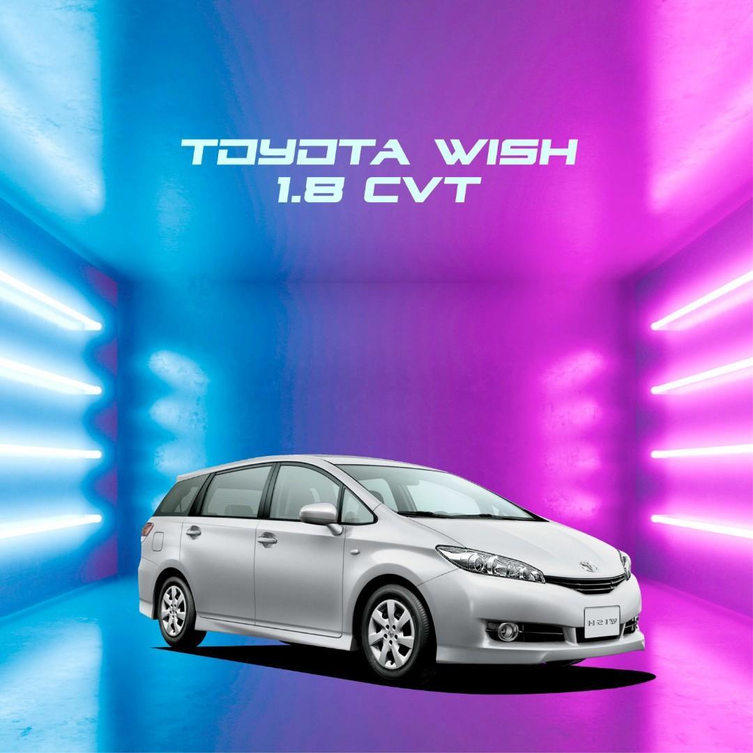 Toyota Wish - Private Hire / Grab Use