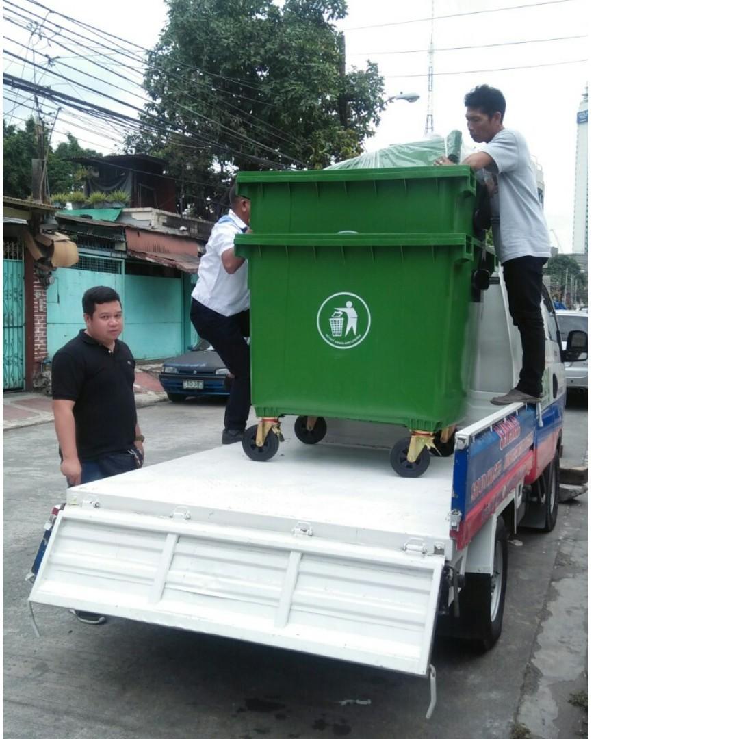 trash bin plastic road barrier safety barrier traffic cone