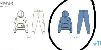 TWICELIGHTS Merchandise MoMo Design (X Size x1 Blue -ReadyStock)