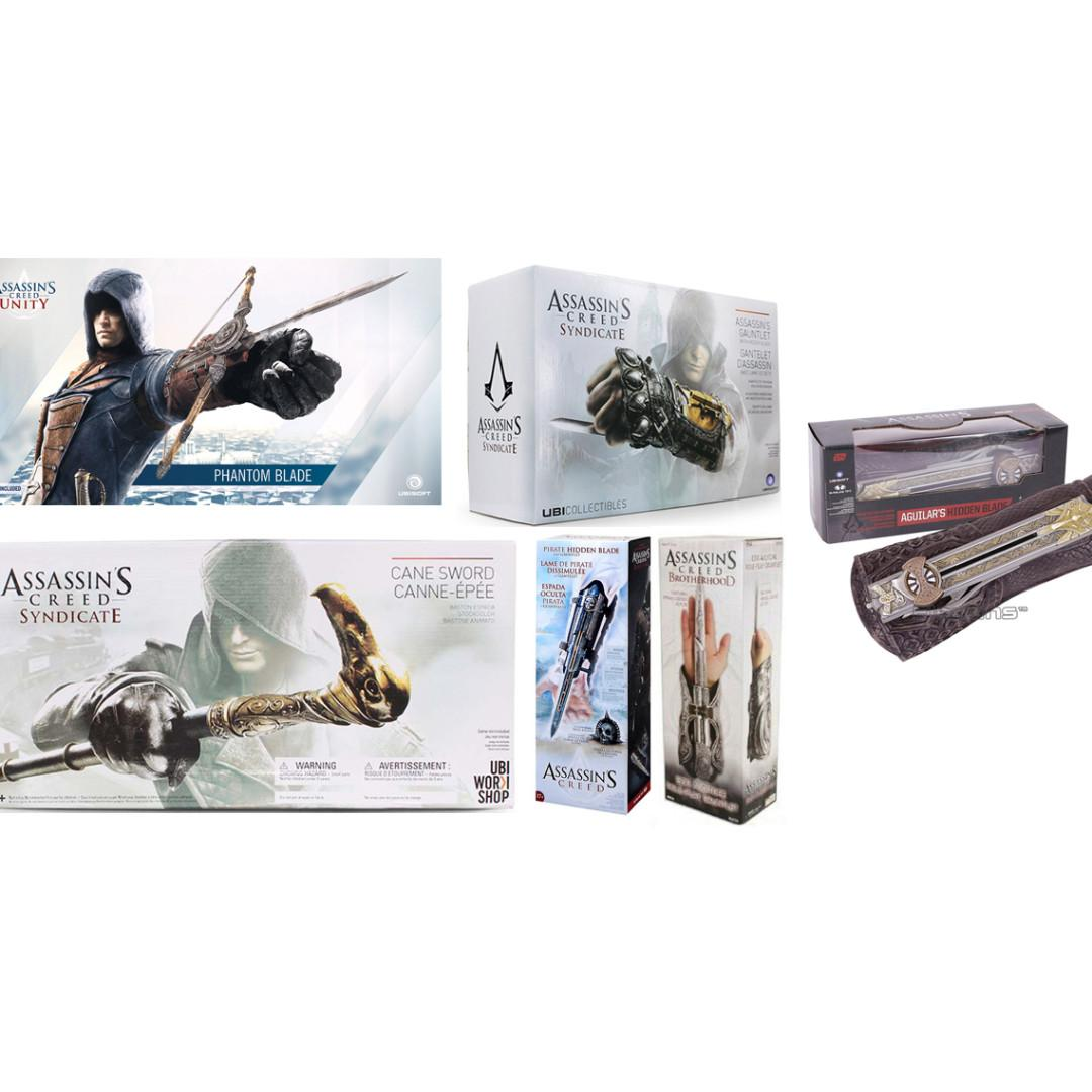 Ubisoft Assassins Creed Altair Connor Aguilar Hidden Blade Cane Sword Toys Games Toys On Carousell