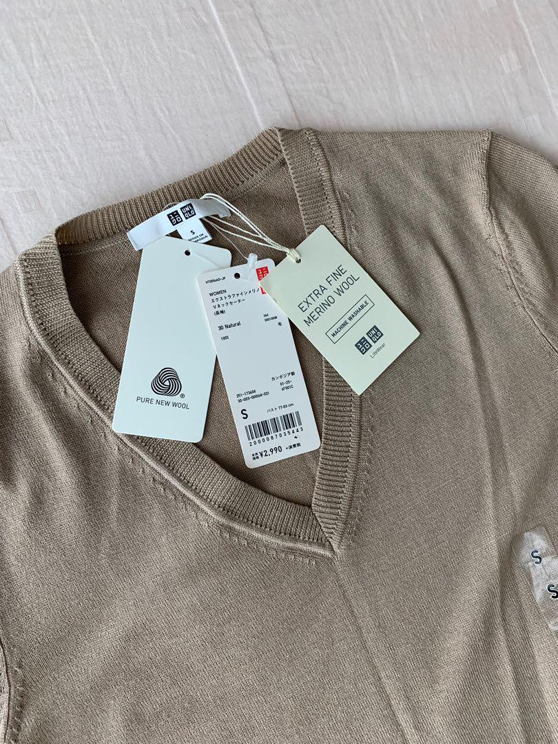 Uniqlo Extra Fine Merino Wool Sweater