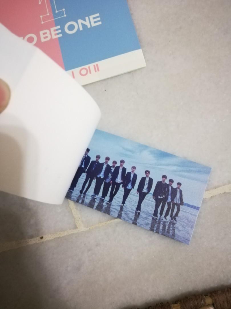[SKY ver] Wanna One Mini Album Vol. 1 - 1X1=1 (To Be One)