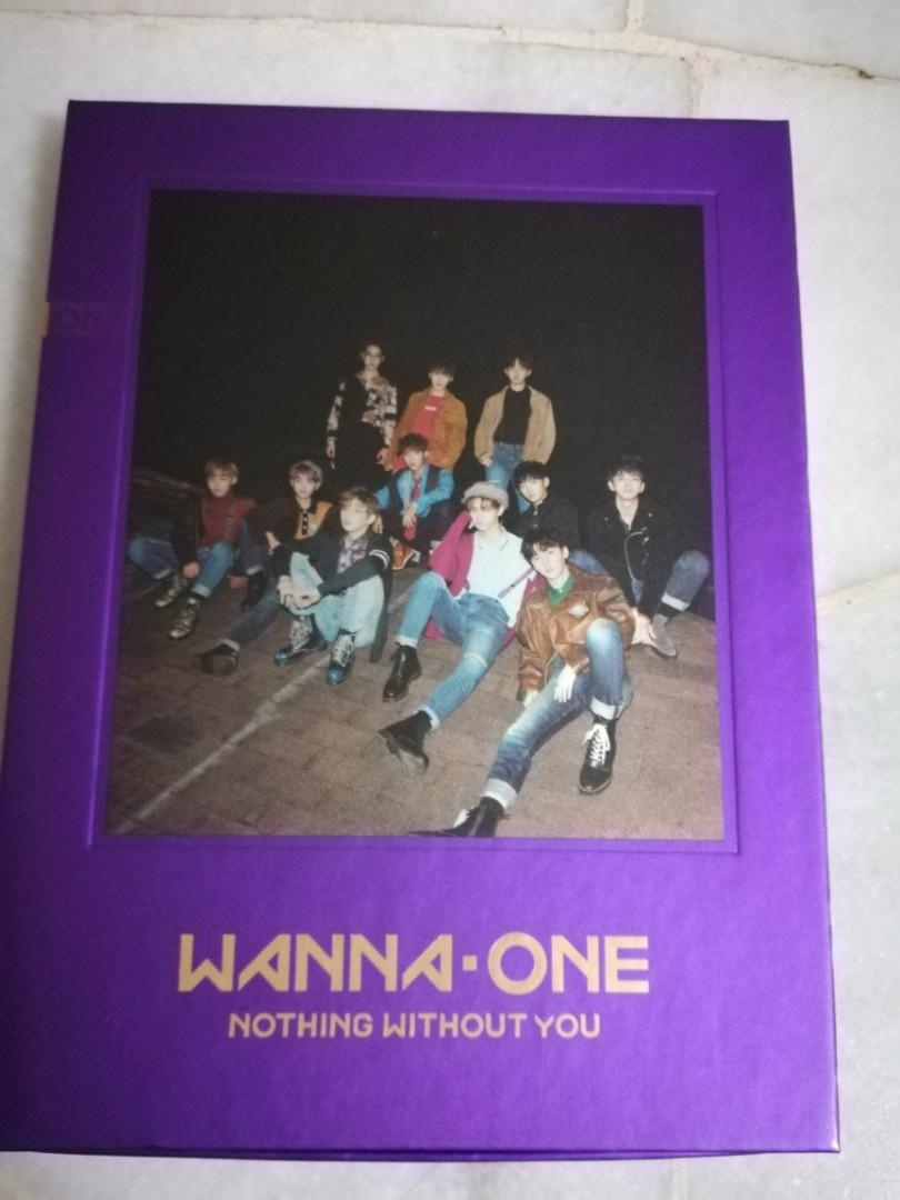 [WANNA ver] Wanna One Mini Album Vol. 1 (Repackage) - 1-1=0 (Nothing Without You)