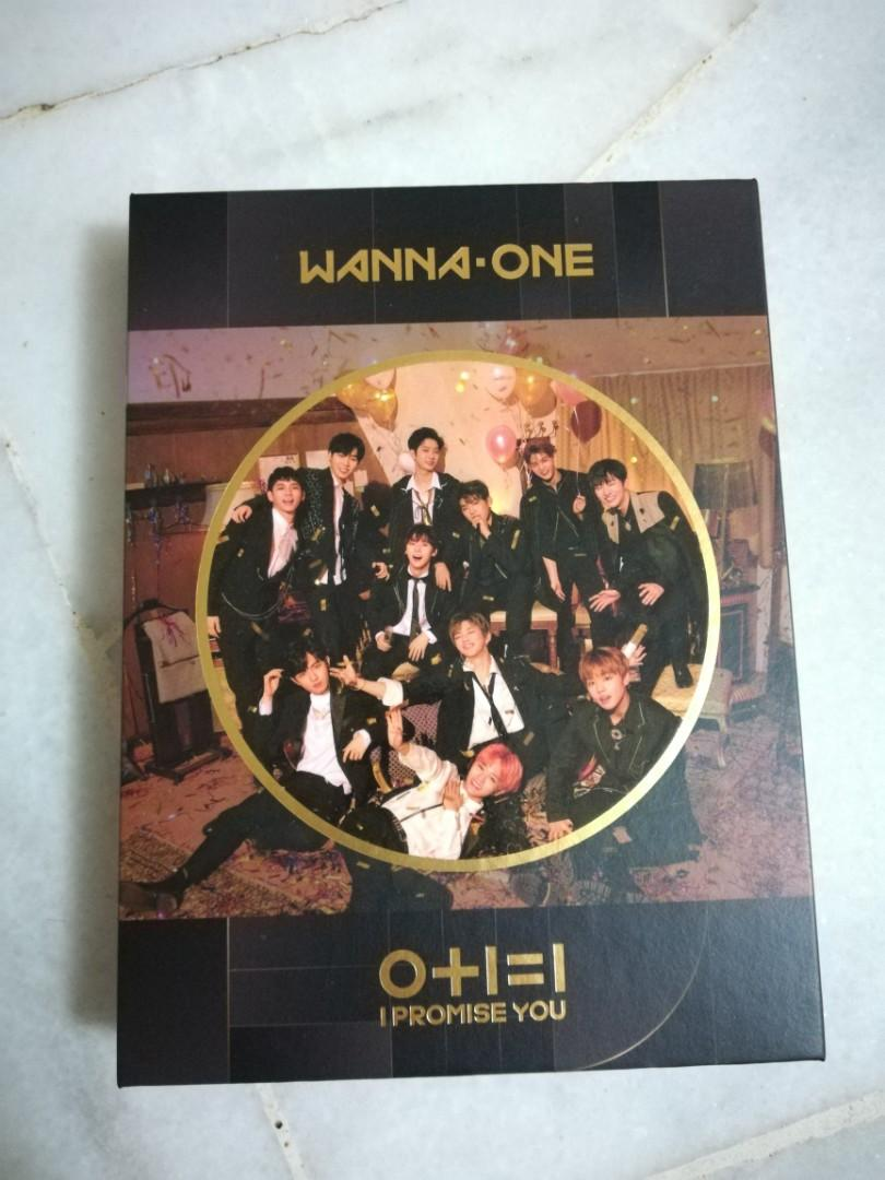 [NIGHT ver] Wanna One Mini Album Vol. 2 - 0+1=1 (I Promise You)