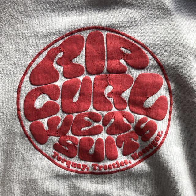 White Rip Curl Hoodie