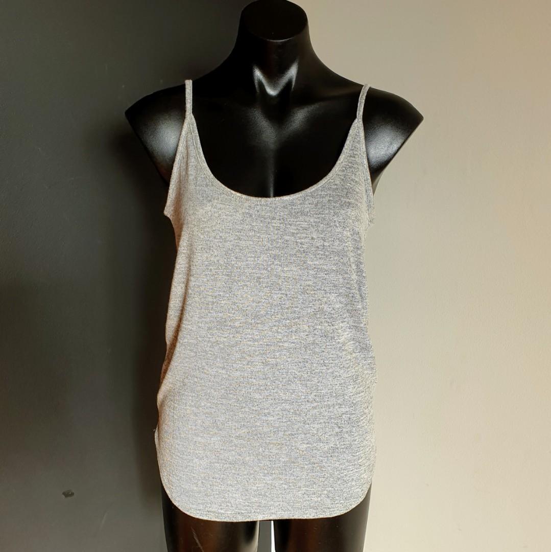 Women's size S 'DECJUBA' Gorgeous grey skyla textured cami - BNWT