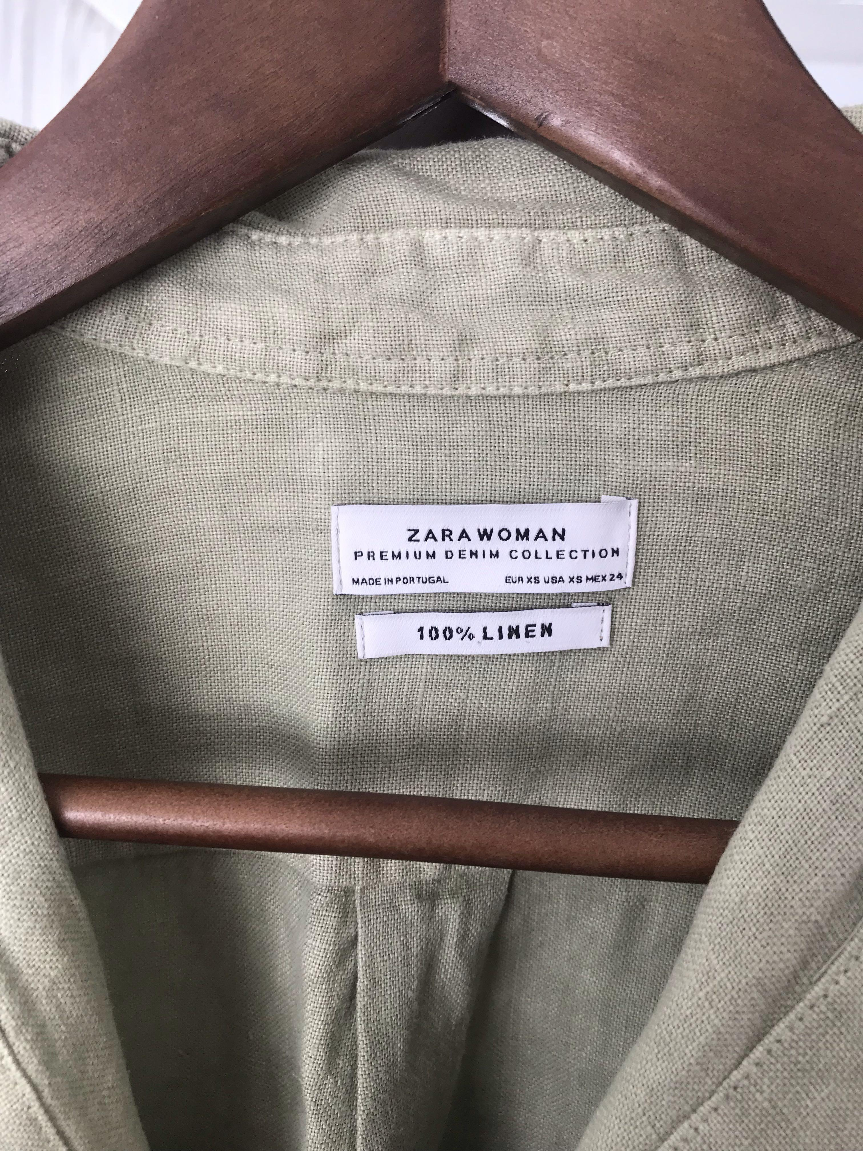 Zara khaki shirt