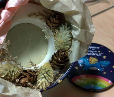 手工乾燥花香氛蠟片/薰香蠟片---檸檬草+佛手柑