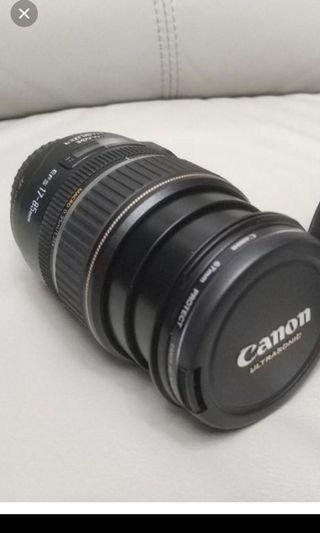 Canon EF-S 17-85 f4.5-5.6 IS USM