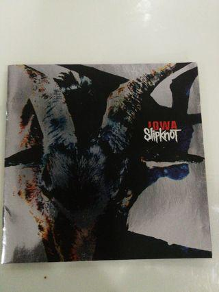 Imported Collectible CD: Slipknot: Iowa