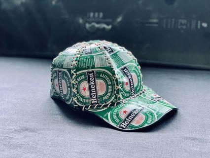 🚚 海尼根 啤酒罐 鐵皮帽