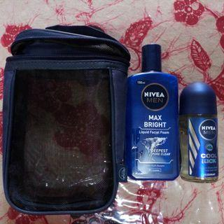 Nivea Post Shave Balm set