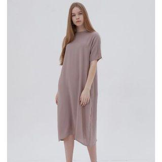 NEW! grey Mididress