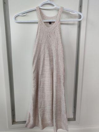 Dynamite Knit halter dress