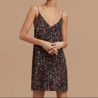Aritzia Wilfred Free Vivienne Slip Dress XS