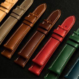 Buttero Leather Watch Strap - Delugs