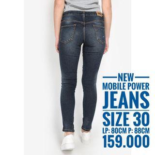 Mobile Power Jeans size 30, New