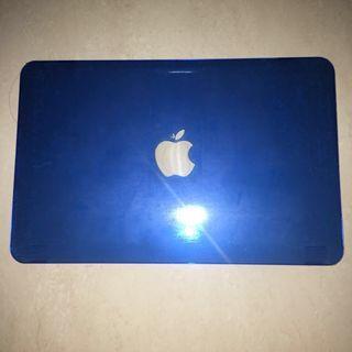 Macbook blue hard case