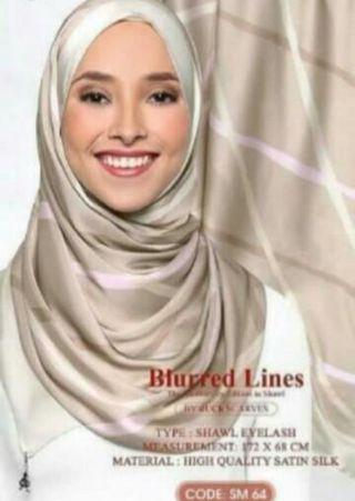 Madiah- dUck Blurred Lines Shawl - The Anniversary Edition